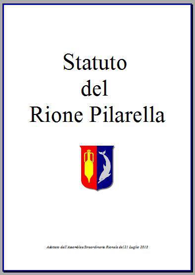 statuto rionale